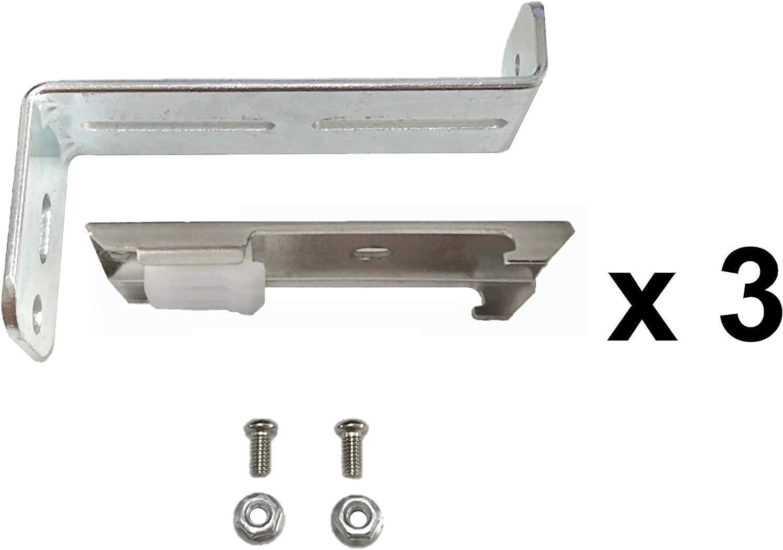 rail motoris/é mural. ABALON 3 /équerres et supports plafond pour installation murale ou au plafond du rail motoris/é