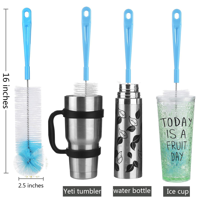 Straw Brush Alink Nylon Skinny Pipe Tube Cleaner 190mm x 7mm Set of 4 ALINK OFFICIAL AL190-0705