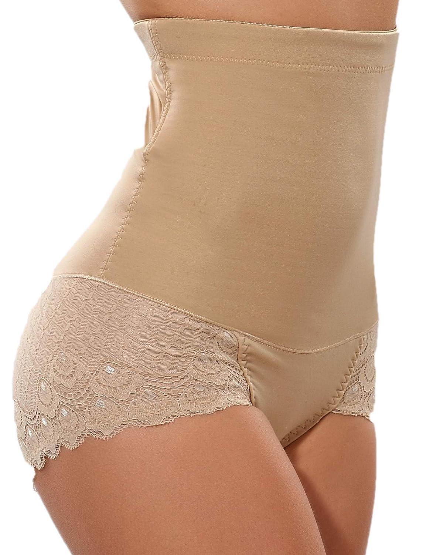 719ac50b3 Lynmiss Body Shaper Butt Lifter Shapewear High Waist Tummy Control Panty  Slim Waist Trainer at Amazon Women s Clothing store