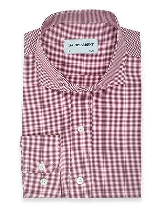 0e2b6f204 Harry Ardent Mens Dress Shirt Slim Fit Button Down Collar Brooklawn ...