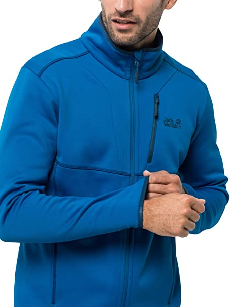 Men's KIEWA HOODED JACKET Electric Blue Recycled