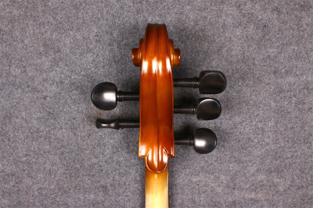 Yinfente 4/4 5 String Cello Acoustic Model Full size Spruce Maple wood Free Cello bow Bag Sweet Sound by yinfente (Image #9)
