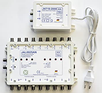 Jultec JAL0925AN amplificador con fuente de alimentación de lanzamiento cascada Start amplificador
