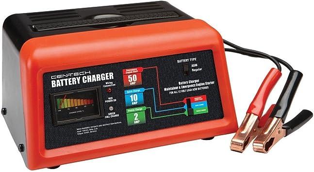 Amazon.com: Cen-Tech 60581Cargador de batería ...