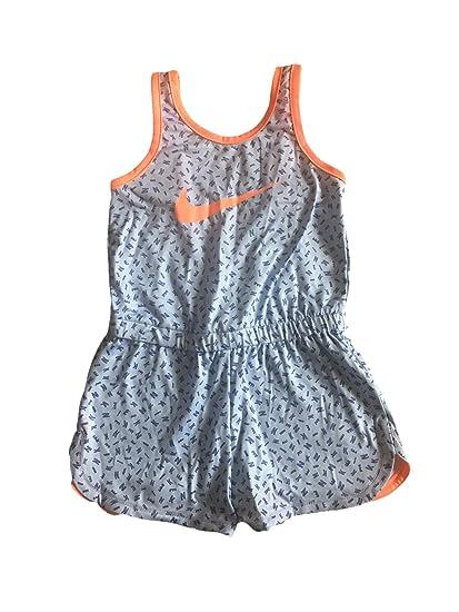 9e3341740 Nike Infant Toddler Girls Dri-Fit Sports Romper Dark (Blue Multi, 3T):  Amazon.co.uk: Clothing