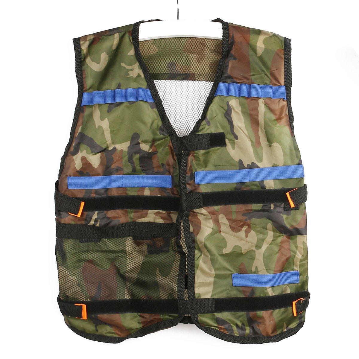 Pixnor Veste tactique de Camouflage de Nerf N Strike Elite Series