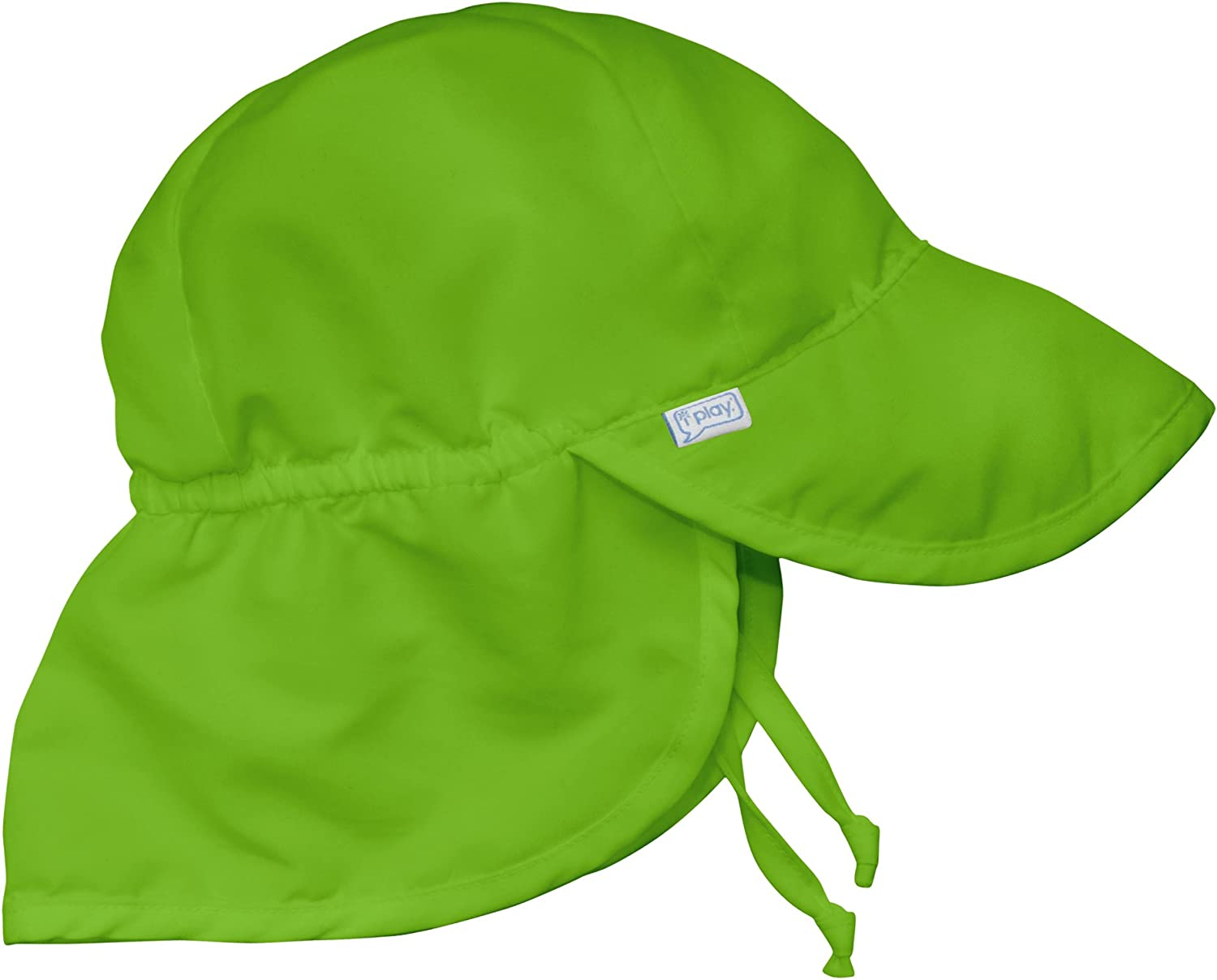 by green sprouts Baby Girls Solid Brim Sun Protection Hat i play