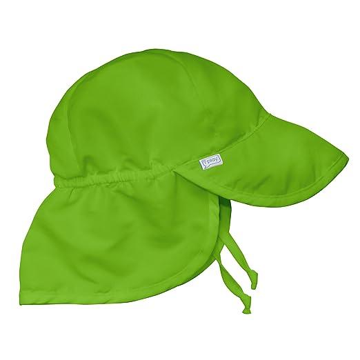 8bf18558c33ca Amazon.com  i play. Baby Boys  Flap Sun Protection Swim Hat  Clothing