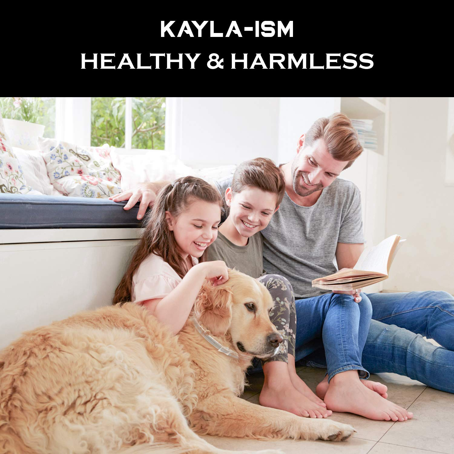 Kayla-ism Dog Flea and Tick Collar, Natural and Essential Oils, Waterproof, One Size Fits All, 8 Months Full Protection, Healthy and Harmless by Kayla-ism (Image #7)