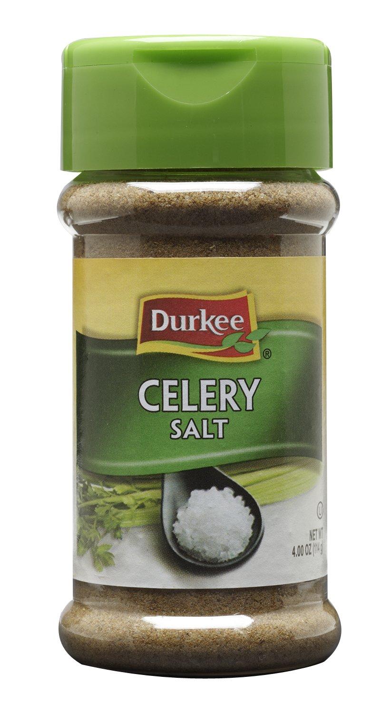 Durkee Celery Salt, 4-Ounce (Pack of 12)