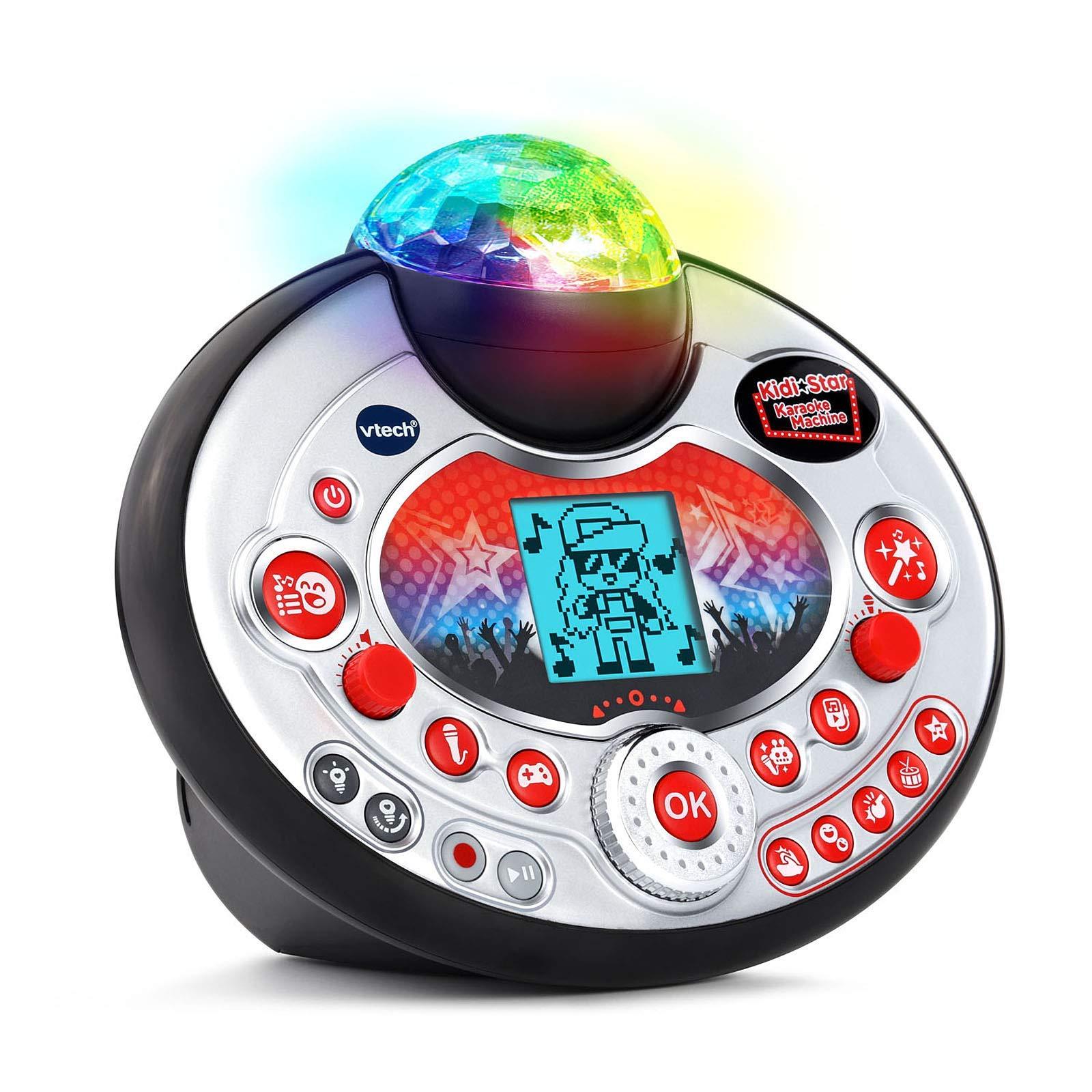 VTech Kidi Star Karaoke Machine (Black) (Renewed) by VTech (Image #2)