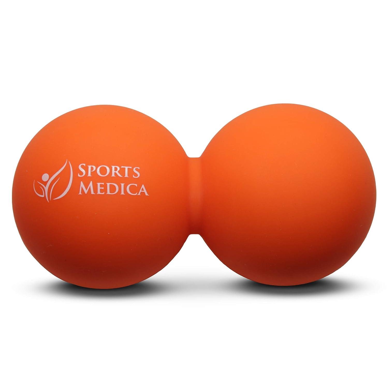 Recupero manuali e Serie Video Palla per Massaggi a Forma di Arachidi lesioni Sports Medica Doctor Perfetta per Terapia dei Trigger Point