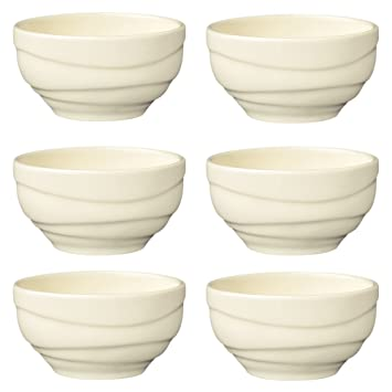 Jamie Oliver WAVES Set of 2 Bowls 8 cm Small Porcelain Bowls Off White Porcelain  sc 1 st  Amazon UK & Jamie Oliver WAVES Set of 2 Bowls 8 cm Small Porcelain Bowls Off ...