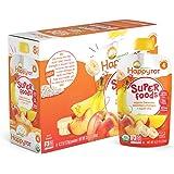 Happy Tot Organics Super Foods, Bananas, Peaches & Mangos + Super Chia, 4.22 Ounce (Pack of 16)