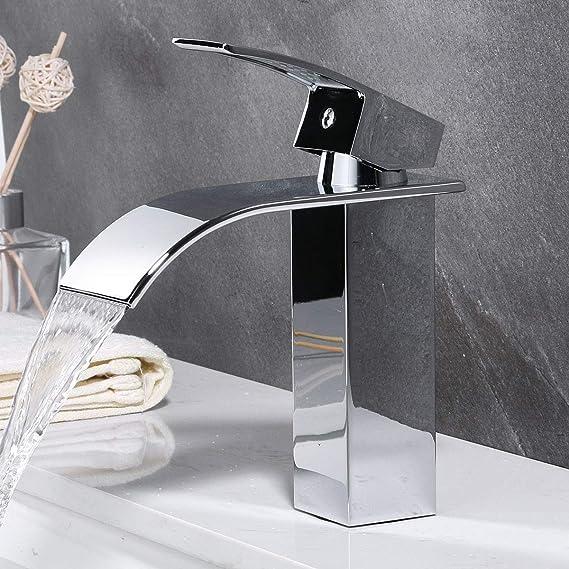 WUPYI2018 Kit de douche avec robinet cascade et manche