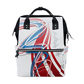 Amazon.com: mamacool momia bolsa de pañales bolsa bolsas de ...