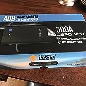 Amazon.com: DBPOWER 500A 10800mAh Portable Car Jump
