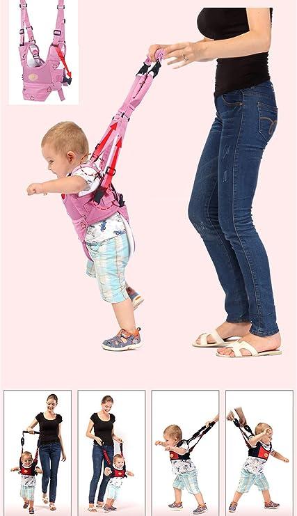 WJH&ZMB Arnés para bebés: Bebé Aprenda a Caminar Tres en uno ...