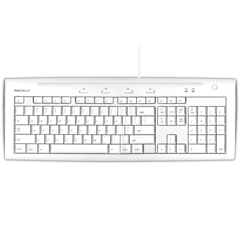 【現金特価】 Macally iKeyslim Hi-Speed USB 2.0 Ports 2.0 Slim Slim Keyboard with Two USB Ports [並行輸入品]B0113SBBQY, ノセチョウ:117d690b --- rsctarapur.com