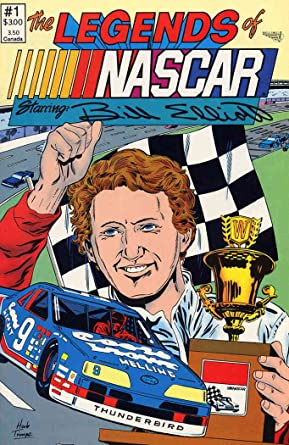 comic strip Nascar