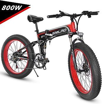 Kudout Bicicleta Eléctrica de Montaña - bicicleta 26Marco de ...