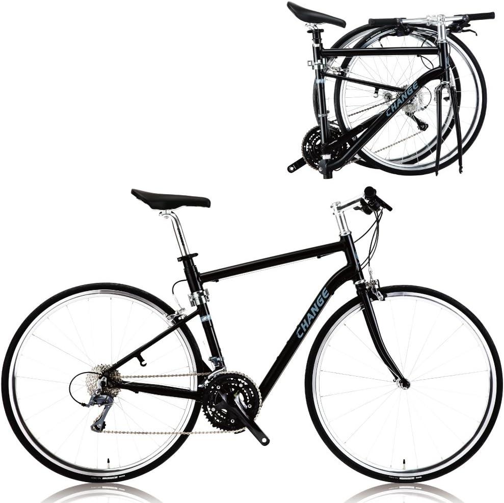 CHANGE Bicicleta Ligera tamaño Plegable Carretera Shimano 24 ...