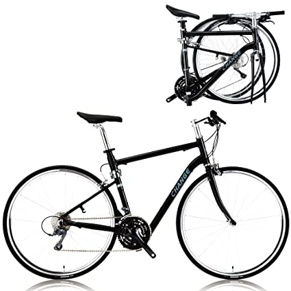 Amazon.com : CHANGE Lightweight Full Size Road Folding Bike Shimano ...