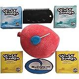 Sticky Bumps Wax Plus Fireball Wax Remover, Flexcomb Scraper, Future Fin Key Total of 4 Bars of Wax 2 Tropical, 1 Base…