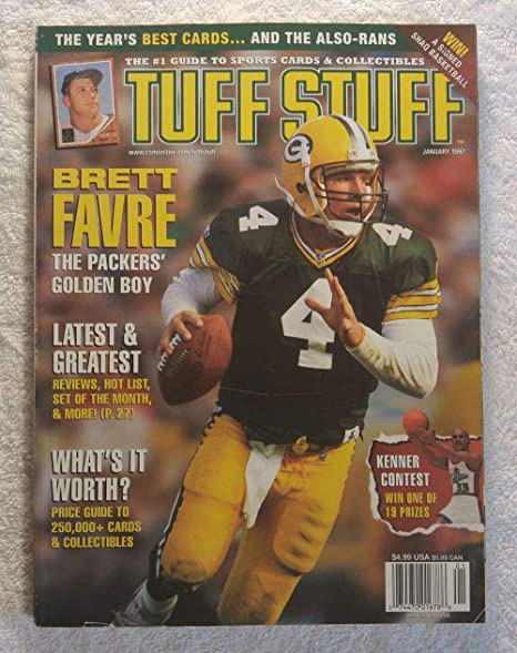 Brett Favre - Green Bay Packers - The Packers  Golden Boy - Tuff Stuff  Magazine 8683e9de3