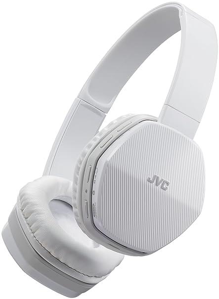 JVC HA-SBT5-W-E - Auriculares de Diadema con Bluetooth, Color Negro y
