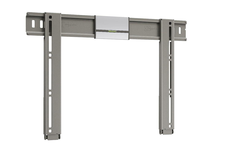 Vogel's THIN 205 TV-Wandhalterung für 66-140 cm (26-55 Zoll) Fernseher, starr, max. 25 kg, Vesa max. 400 x 400, grau