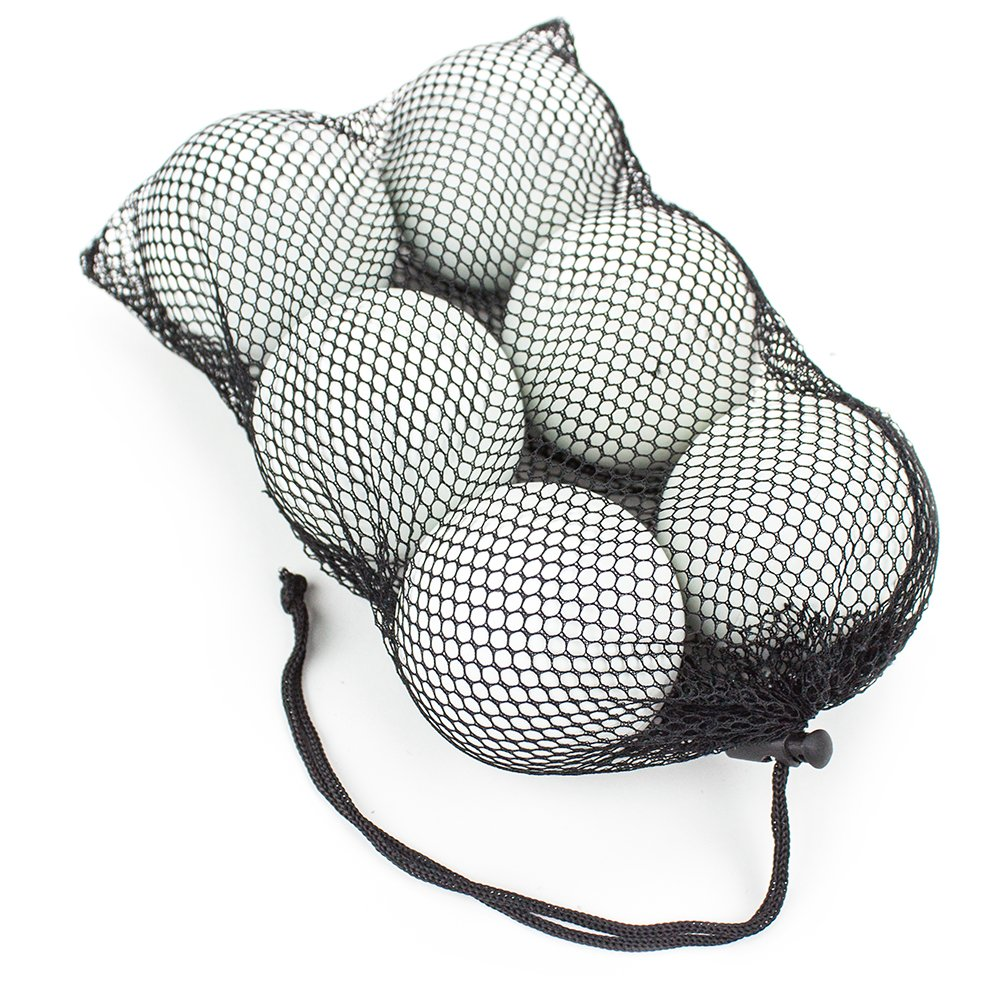 Set of 6 Regulation Size Lacrosse Balls in Mesh Bag - Choose Style! by Brybelly (Image #4)
