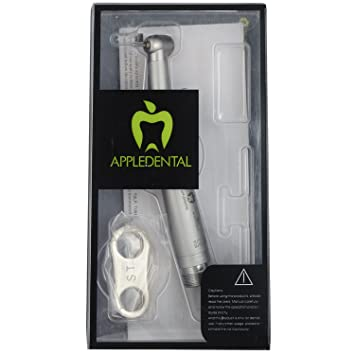 Estelle Vendome Apple Dent Hand Piece with Airotor Push Button for Dental Professional Teeth Whitening at amazon