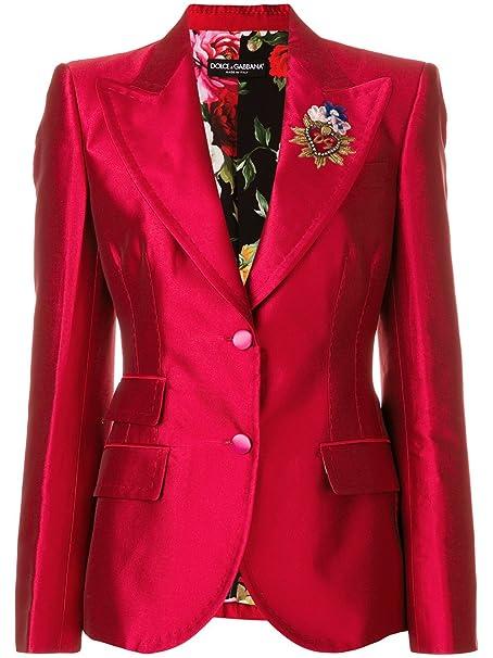 DOLCE E GABBANA - Giacca da abito - donna Rot Marke Taglia 48  Amazon.it   Abbigliamento 778b16f604c