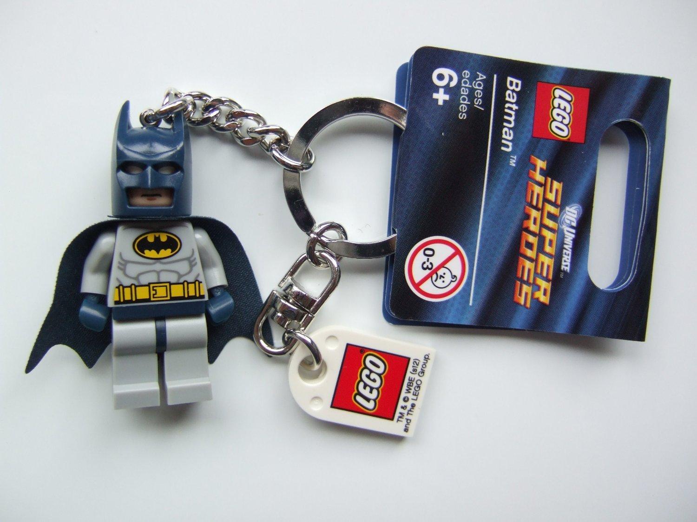 NEW Lego DC Comics Super Heroes 853429 BATMAN Keychain~Bag Charm~Justice League