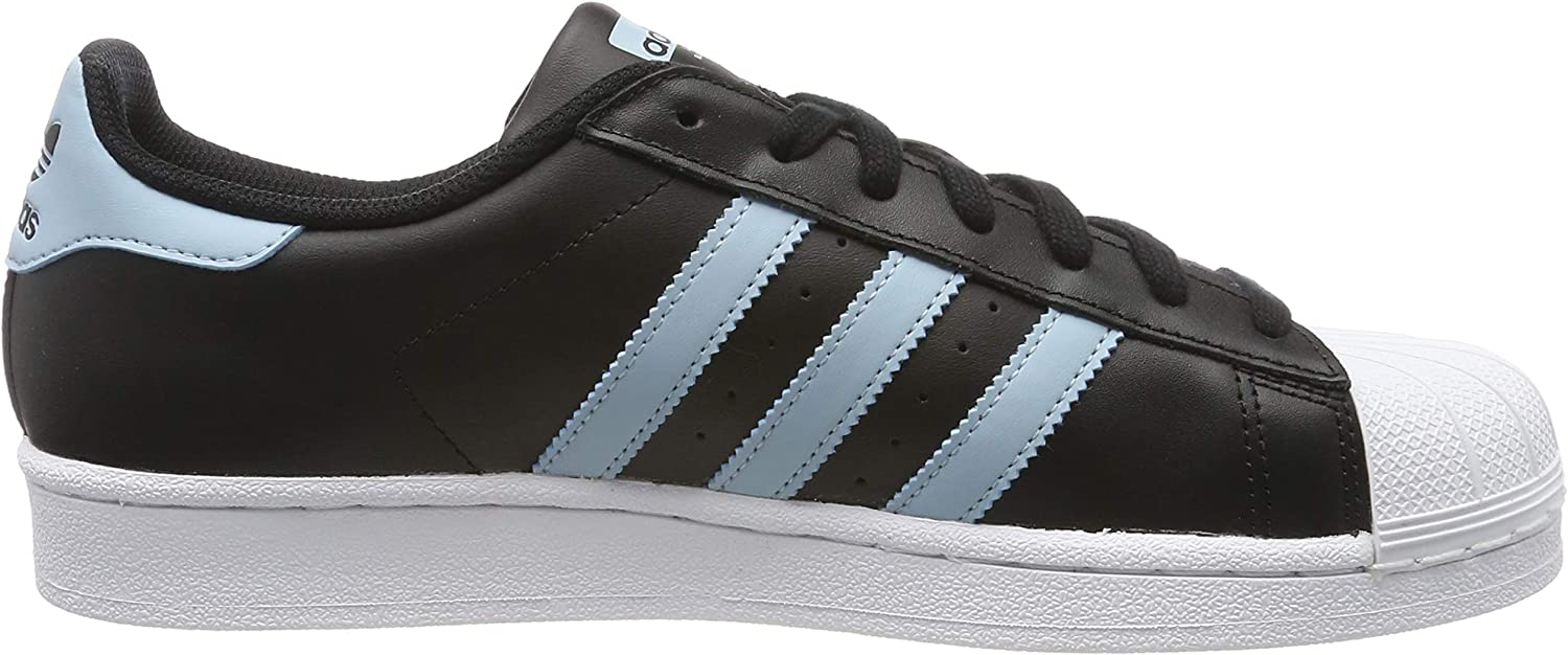 adidas Superstar, Basket Homme Noir Core Black Ash Grey S18 Ftwr White