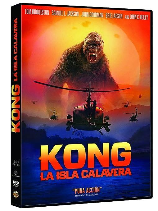 Kong: La Isla Calavera [DVD]: Amazon.es: Tom Hiddleston, Brie Larson, Samuel L. Jackson, John Goodman, John C. Reilly, Jordan Vogt-Roberts, Tom Hiddleston, Brie Larson: Cine y Series TV