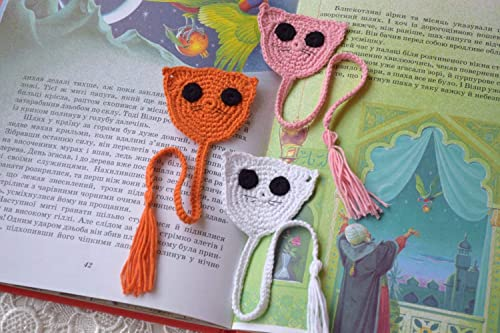 024 Crochet Pattern - Cat and MousE-Bookmarks or decor - Amigurumi ... | 333x500