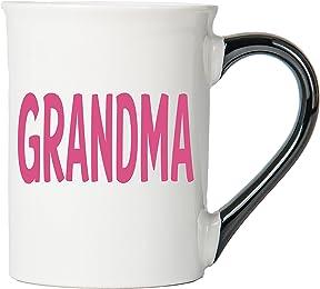 Grandma Mug, Grandma Coffee Cup, Ceramic Grandma Mug, Mother's Day Gift By Tumbleweed