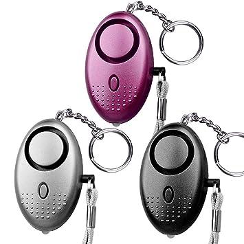 Young.K Alarma Personal 3 Unidades de Seguridad Auto Defensa ...