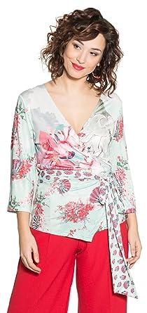 Fatsia, T-Shirt Femme, Turquoise (Turquoise 25), XLsmash