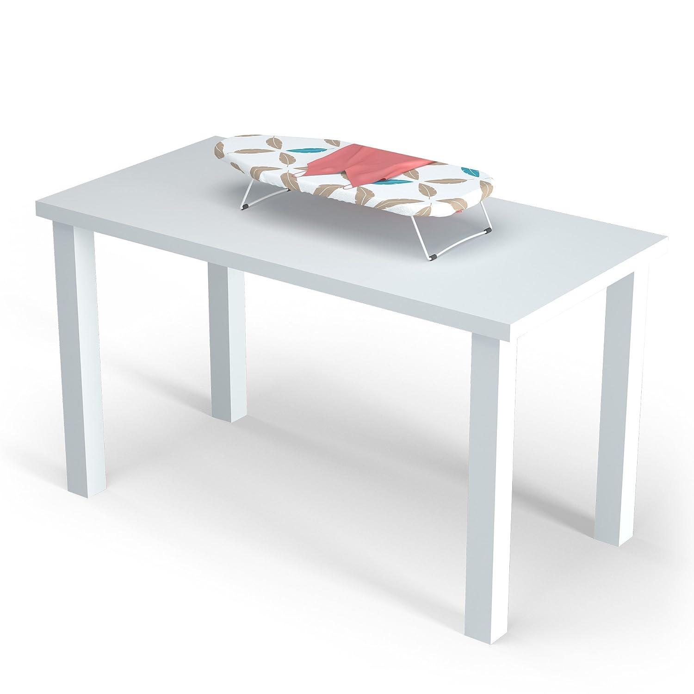 ideal f/ür kleine Haushalte oder unterwegs Ma/ße 70x33 cm Stabiles Tischb/ügelbrett LaundrySpecialist/® TISCHB/ÜGELBRETT zum einfachen B/ügeln Ihrer W/äsche auf einem Tisch oder einer Arbeitsplatte