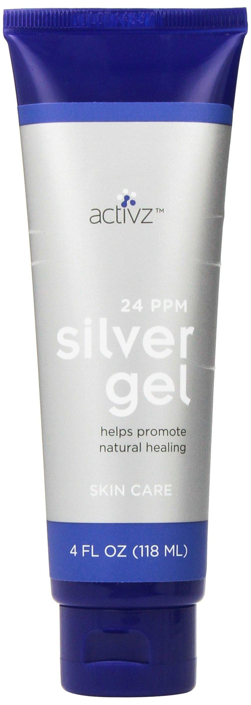 Silver Gel 24ppm - 4 oz Tube by Activz