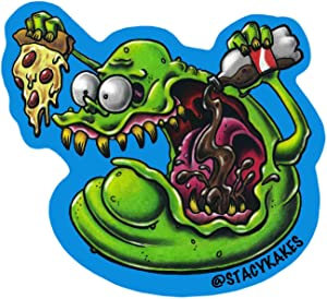 Slimer Decal- for Cars, Laptops, and More! - Use Inside or Outside - Sicks to Any Flat Smooth Surface