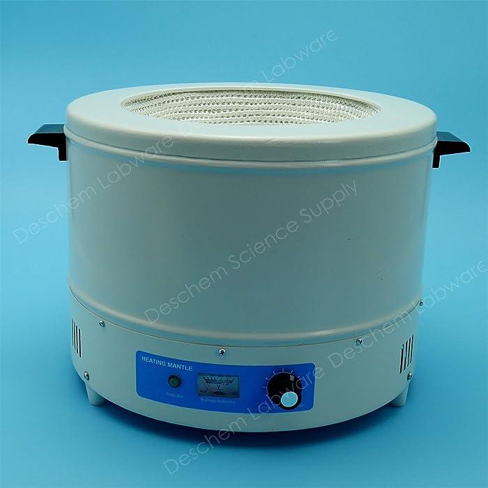 Deschem 5000ml,120V,Electric Heating Mantle,1000W,5L,Temp Control Sleeves,American Plug