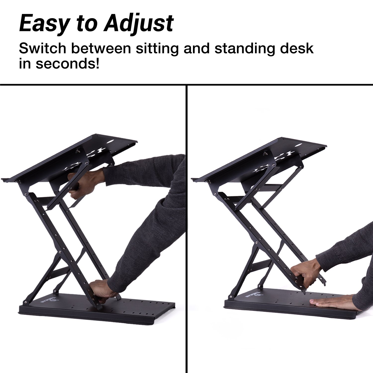 Amazon.com : TriGear Premier 81 Adjustable Height \u0026 Angle Options ...