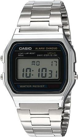 Reloj Casio A158WA-1CR, Reloj para Hombre A158WEA-1EF: Casio ...