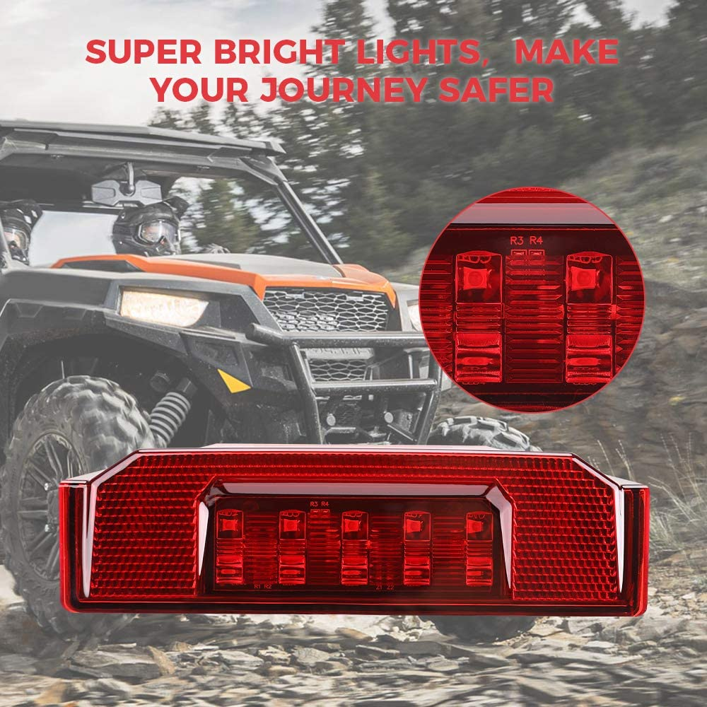 Brack Lights Compatible with Polaris Ranger 570 Full Size 900XP 1000 RGR Replacement for #2412774 2015-2020 UTV Tail Light