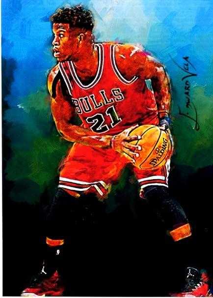 # 21 Assorted Basketball Cards Bundle Chicago Bulls Trading Cards Jimmy Butler 5