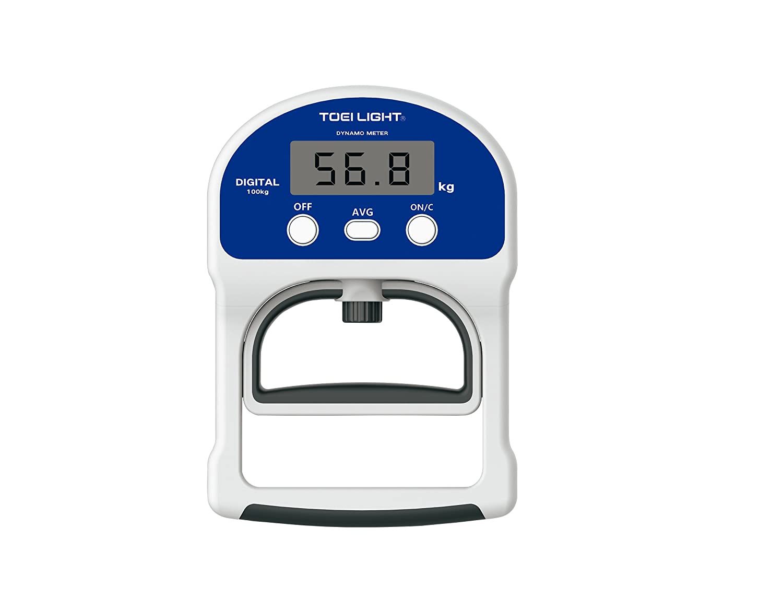 TOEI LIGHT(トーエイライト) デジタル握力計TL2 日本製 体力測定手順対応 5~100用(0,1単位) ロードセル式 T1854 B07BLRYZ1V .